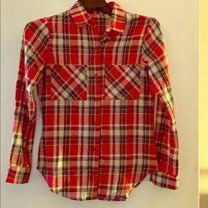 Timing Red Tartan Plaid Shirt